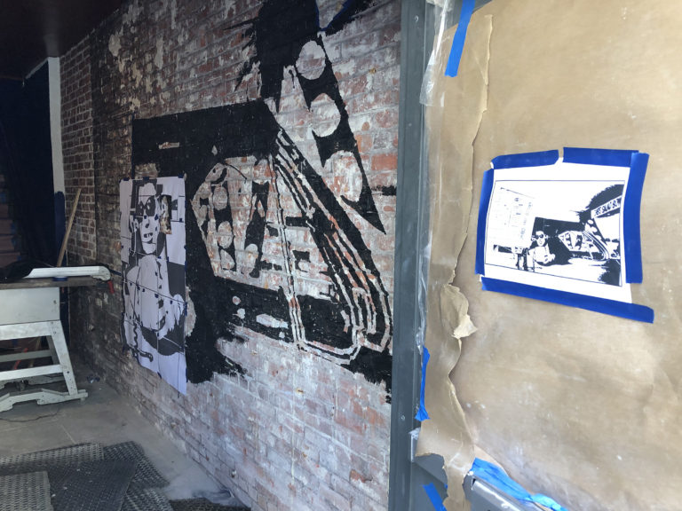 Anchor Rock Club - Atlantic City - Beastie Boys - Ill Communication Mural - by Anthony Caroto (4)